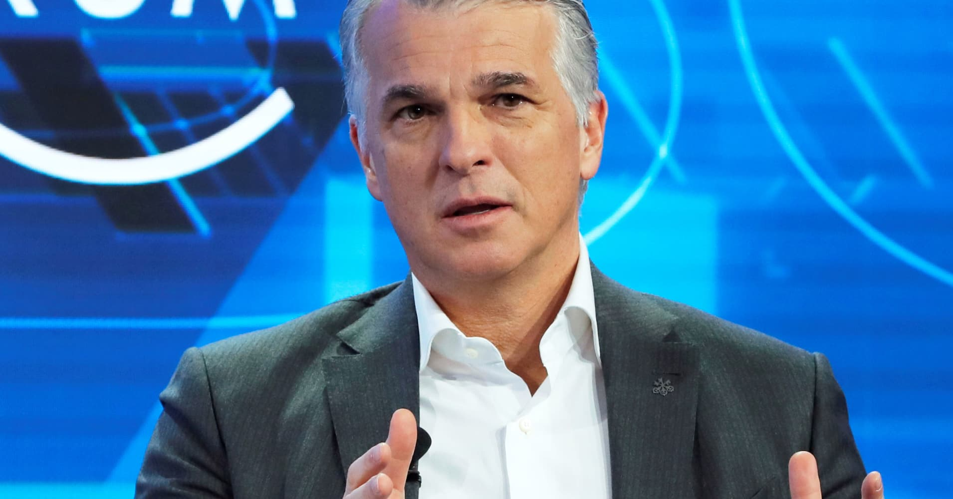 UBS' Ermotti: market liquidity could freeze like the water in Davos