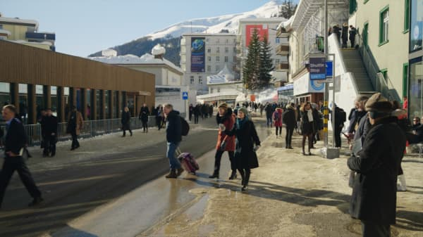Meet the people who go to Davos without an invite