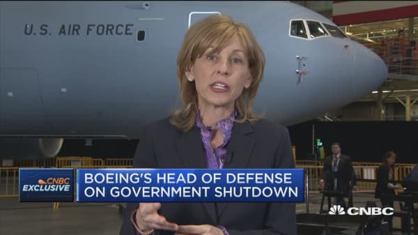 U.S. Air Force takes delivery of new Boeing tankers