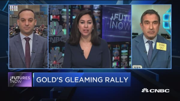 Futures Now: Gold's gleaming rally
