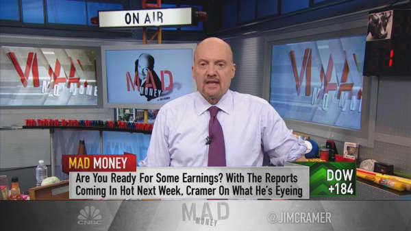 Cramer: We may be coming in 'too hot' next week