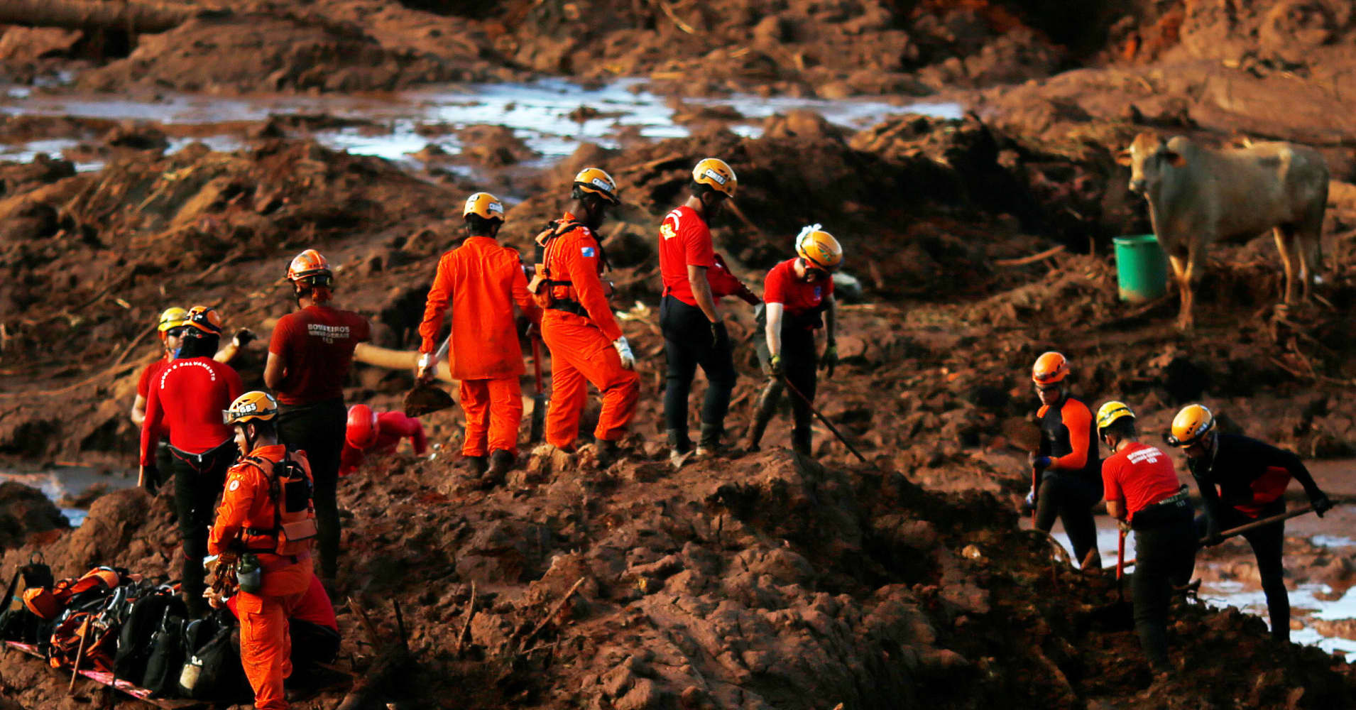 Death toll grows to 60 from tragic collapse of a dam owned by Brazilian mining giant Vale