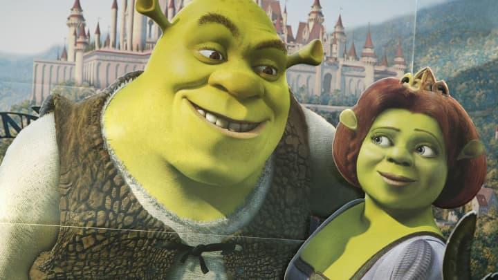 """Shrek and Fiona from """"Shrek"""""""
