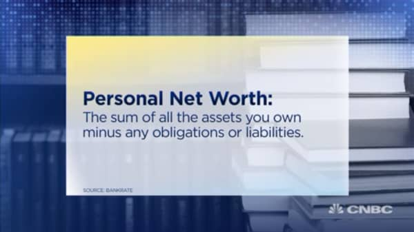 Here's how to figure out your net worth