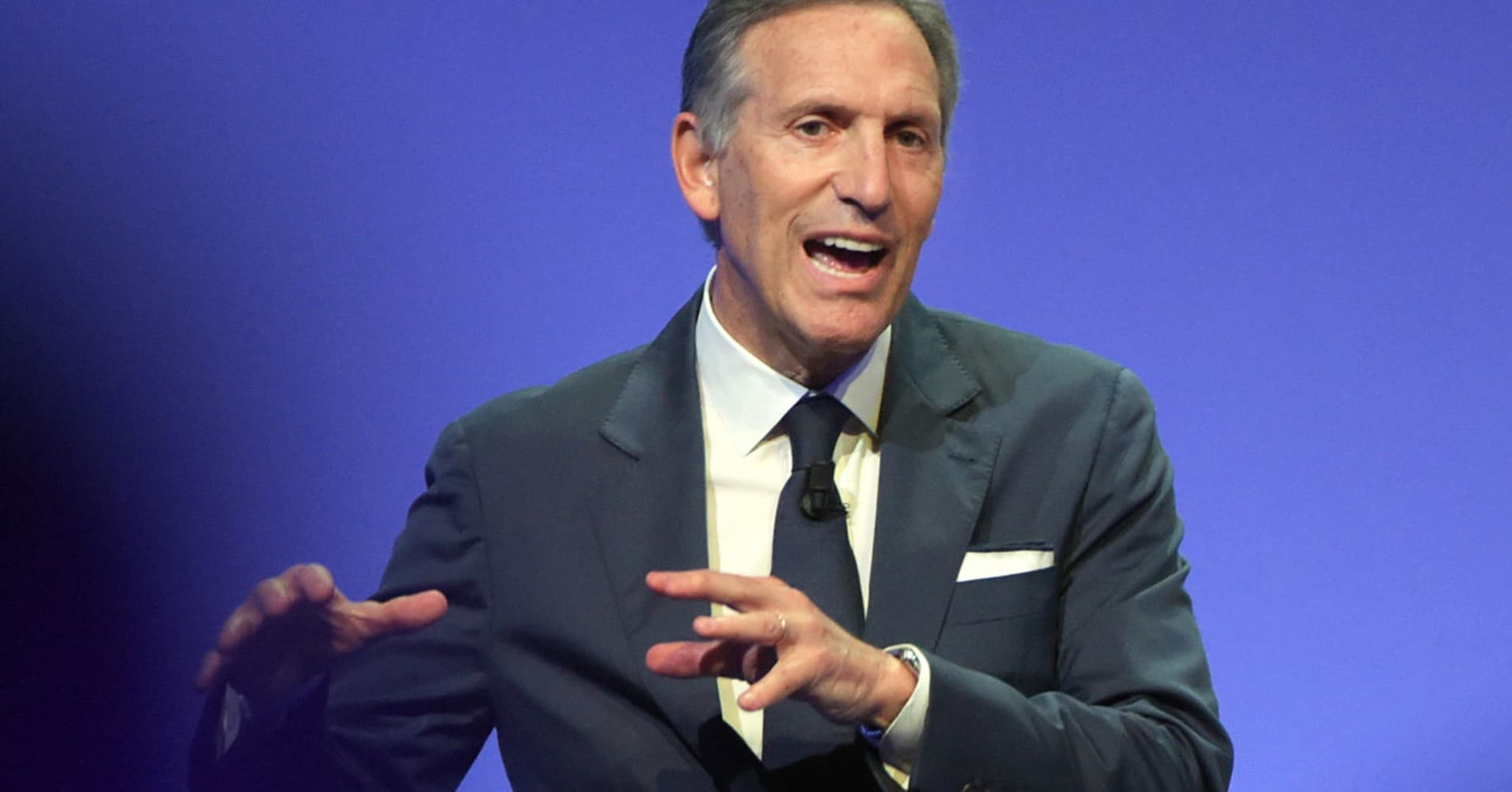 Tim Armstrong would support Howard Schultz or Mike Bloomberg in 2020