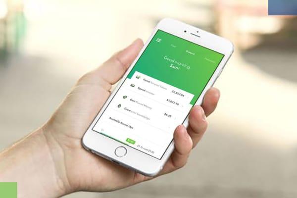 Acorns mobile application