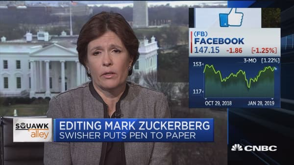 Kara Swisher on Zuckerberg op-ed: If you're going to write something, write something substantive