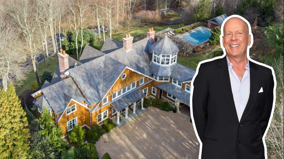 Bruce Willis' $13 million estate is for sale