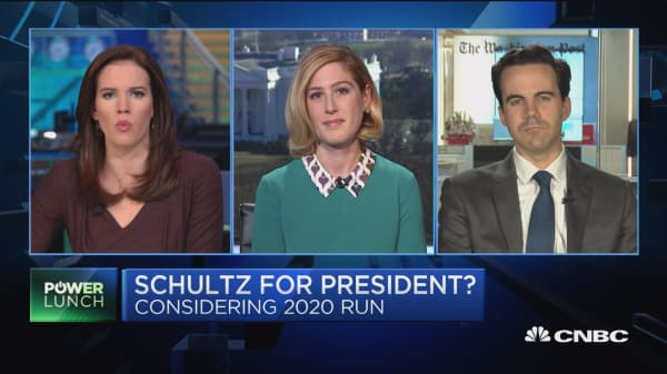 Schultz must start building his party now if he wants to run, says WaPo's Costa