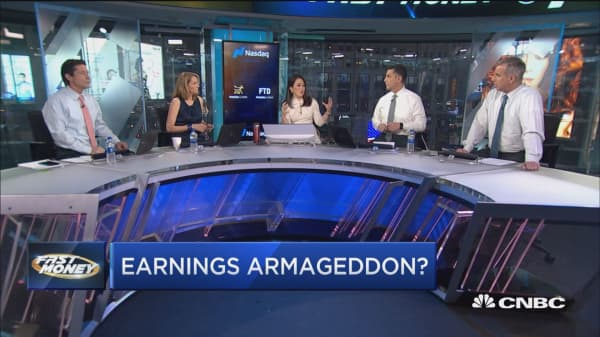 Earnings disasters wreaking havoc on this market and it could just be beginning