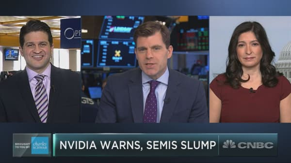 Nvidia's warning spooks semis stocks
