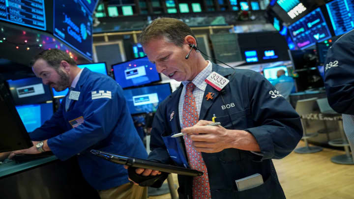 Markets expect to open slightly lower as trade tensions weigh on Wall Street