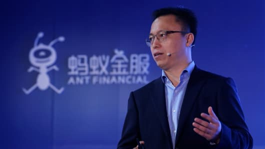 Eric Jing, CEO of Ant Financial