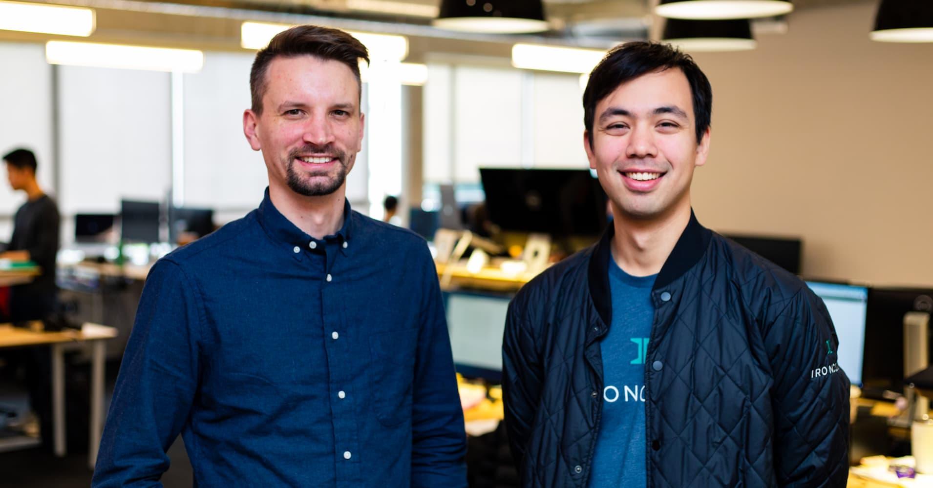 Ironclad co-founders Jason Boehmig, left, and Cai GoGwilt.