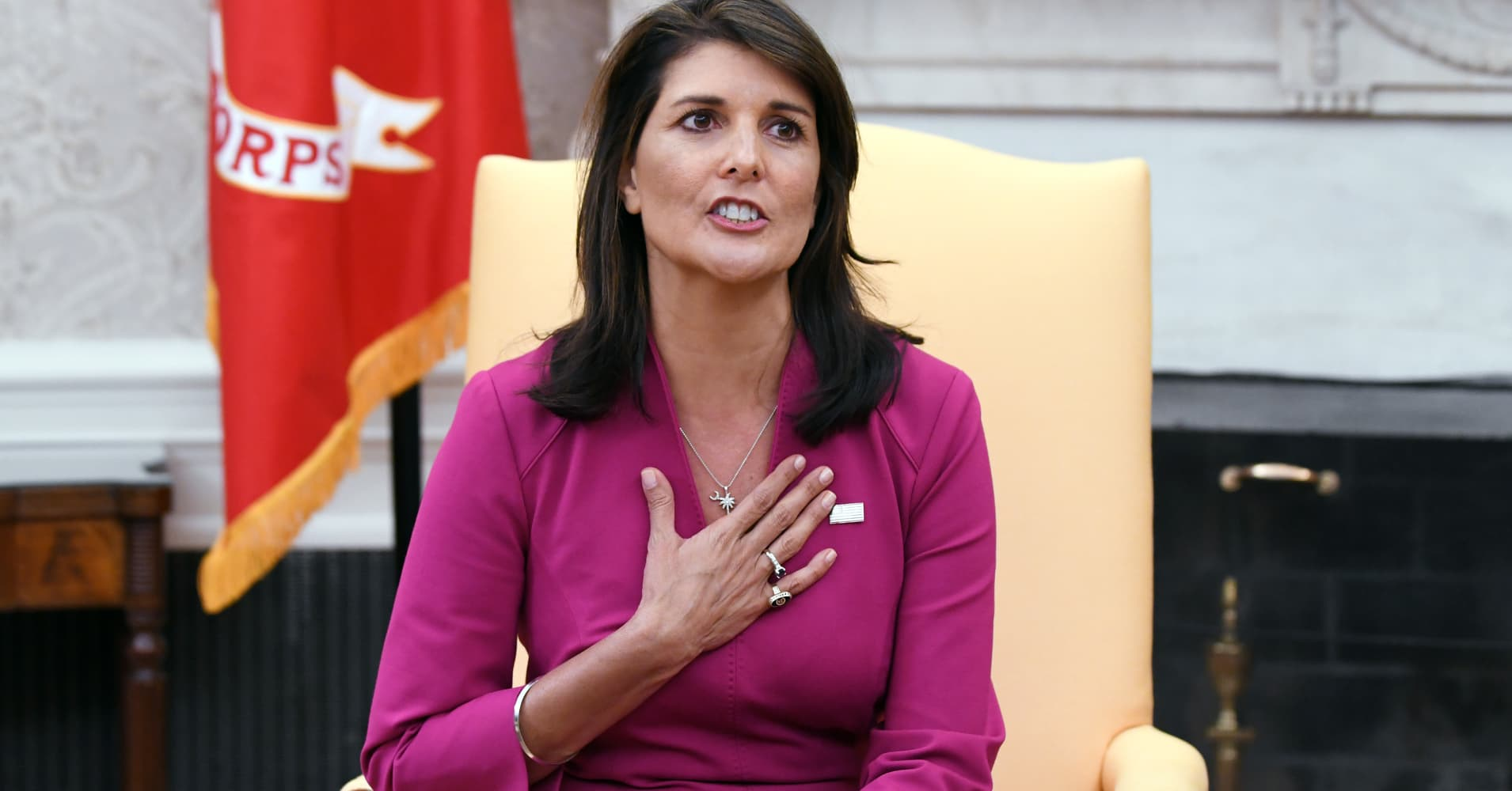 Former UN Ambassador Nikki Haley is charging a whopping $200,000 per speaking gig