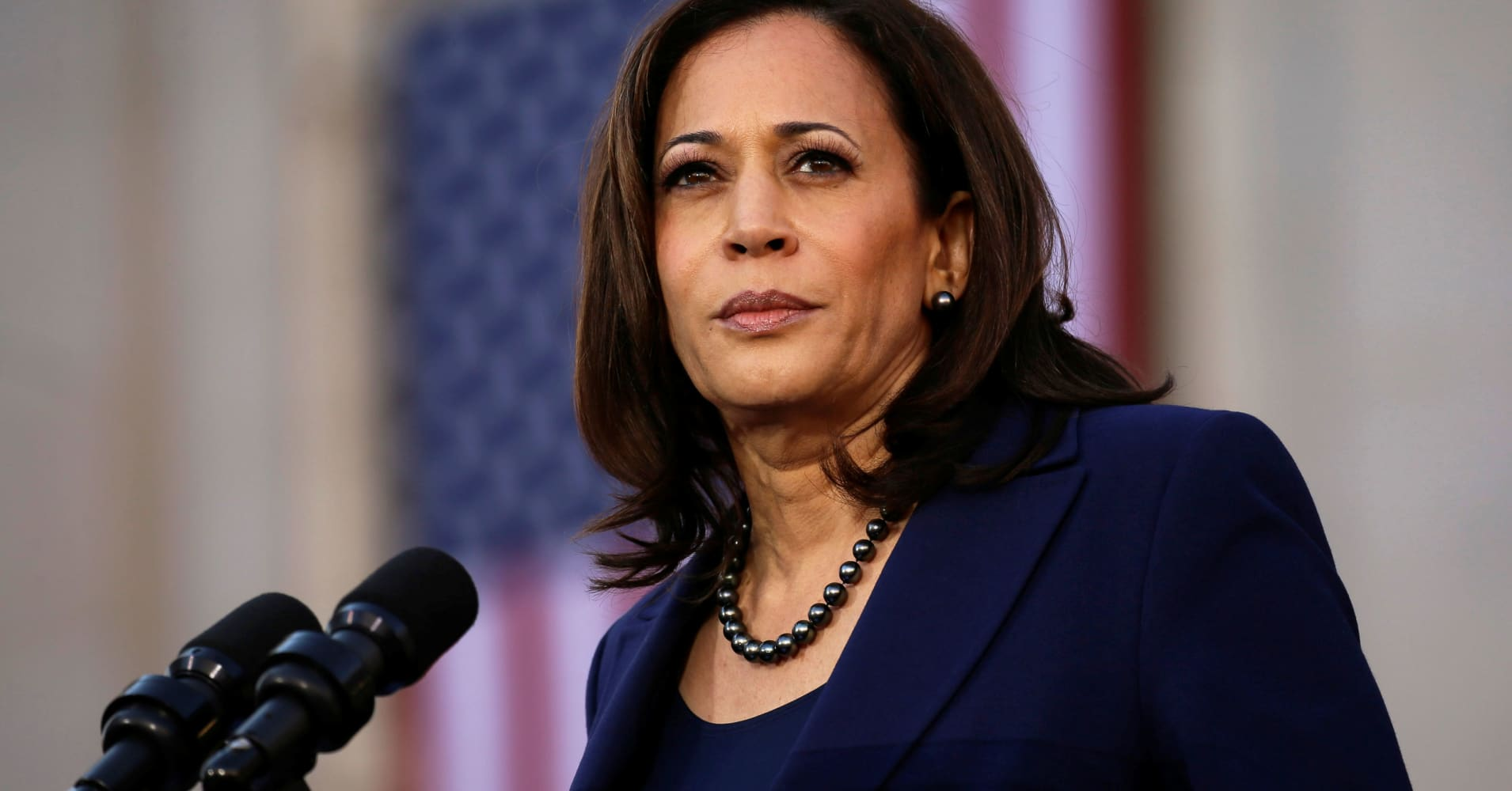 Sen. Kamala Harris calls on Congress to take steps toward Trump impeachment
