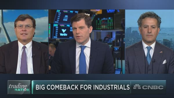 Industrials see mega-sized rally, but can it last?
