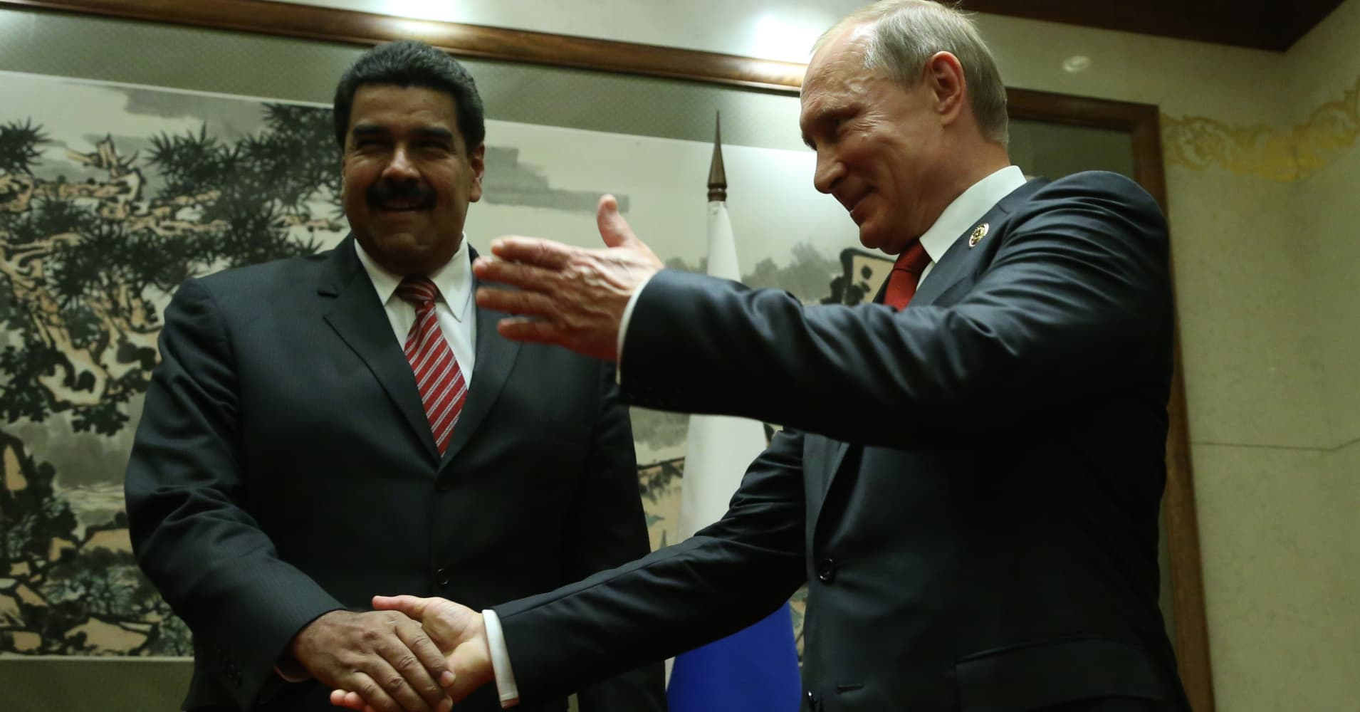 The US-Russia battle for influence over Venezuela is reminding people of Syria
