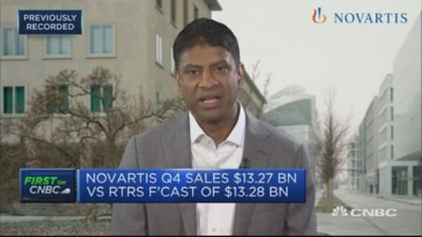 Novartis concerned about Brexit impact on supply chains and regulation, CEO says