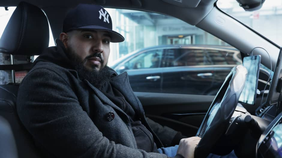 This New Yorker makes up to $540 a day driving for Uber, Juno and Lyft