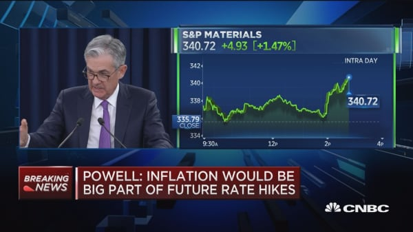 Reducing the pace of run-off was part of Fed discussions: Powell