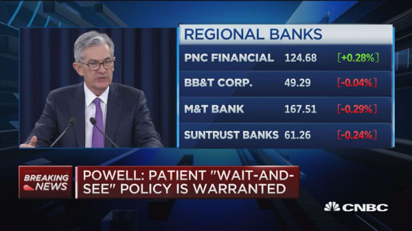 Powell: Patient 'wait and see