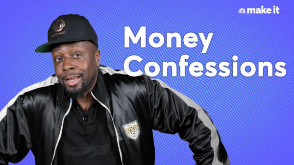 Rapper Wyclef Jean's money confessions