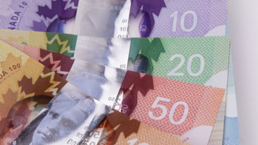 Detail of New Canadian Polymer Bills