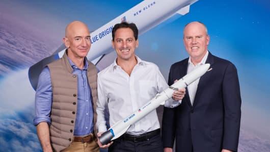 Jeff Bezos' Amazon internet satellites: '4 billion new