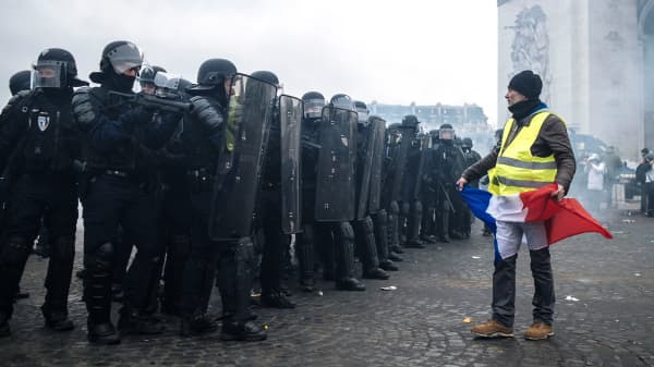 Why is France protesting?