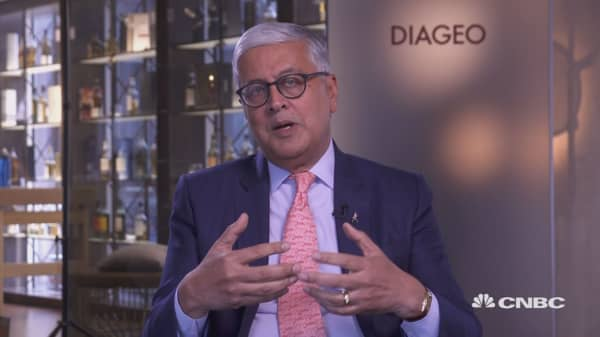 Watch CNBC's full interview with Diageo CEO Ivan Menezes
