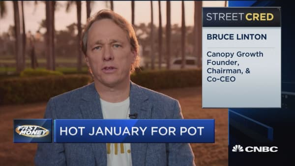 Canopy Growth stock explodes higher, here's what their CEO says is next for the pot company