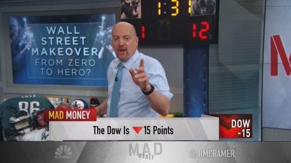 Cramer on how Facebook, GE and Apple turned struggles into stock gains