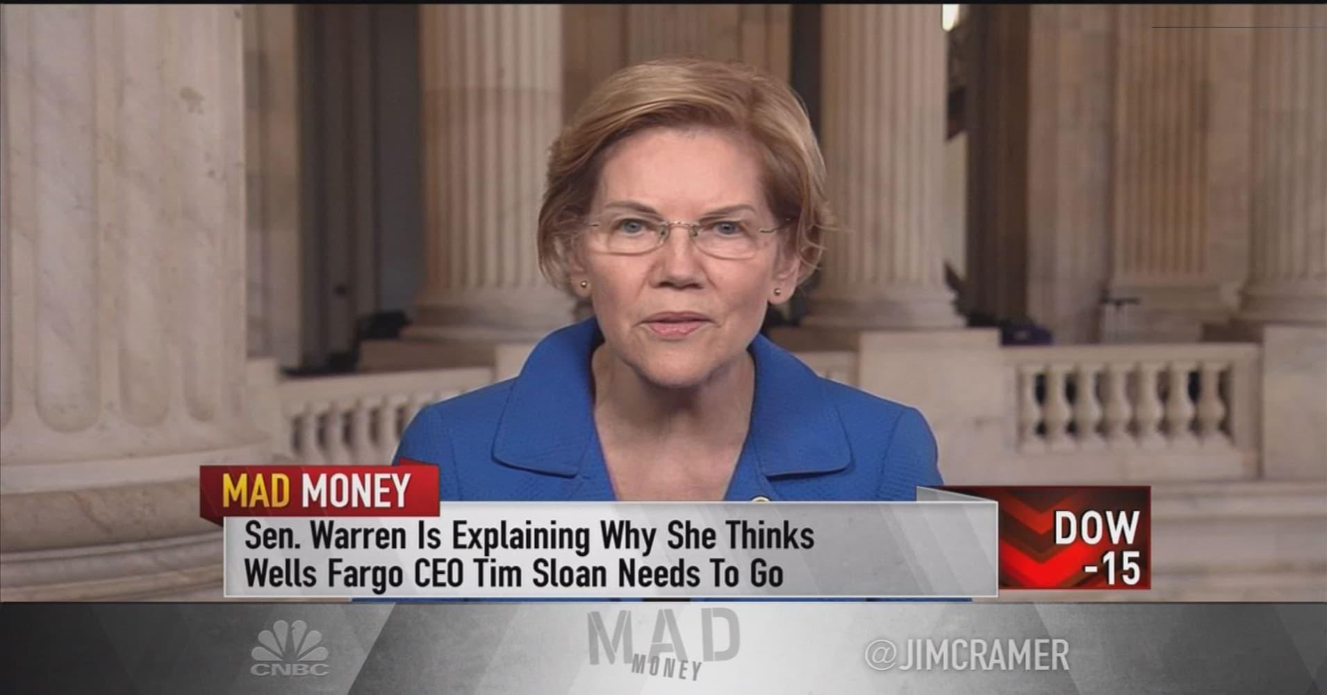 Senator Elizabeth Warren On Taxing Billionaires Wells Fargo Criticism