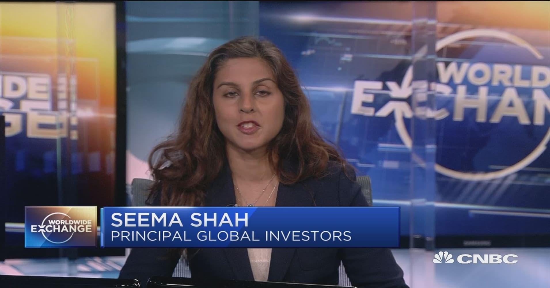 Seema Shah talks international markets
