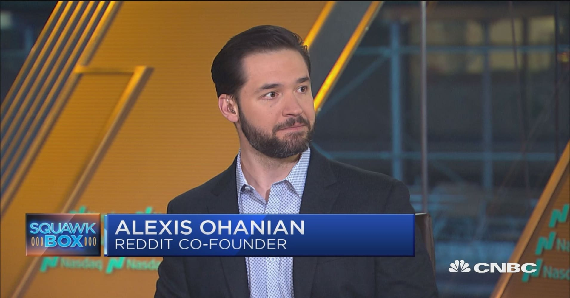 Reddit's co-founder Alexis Ohanian weighs in on the future of data privacy