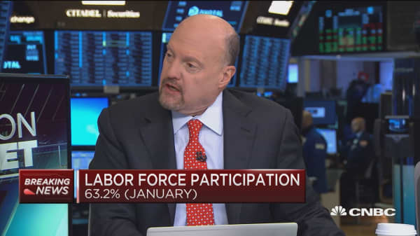 Cramer: The economy is not yet hitting on all cylinders