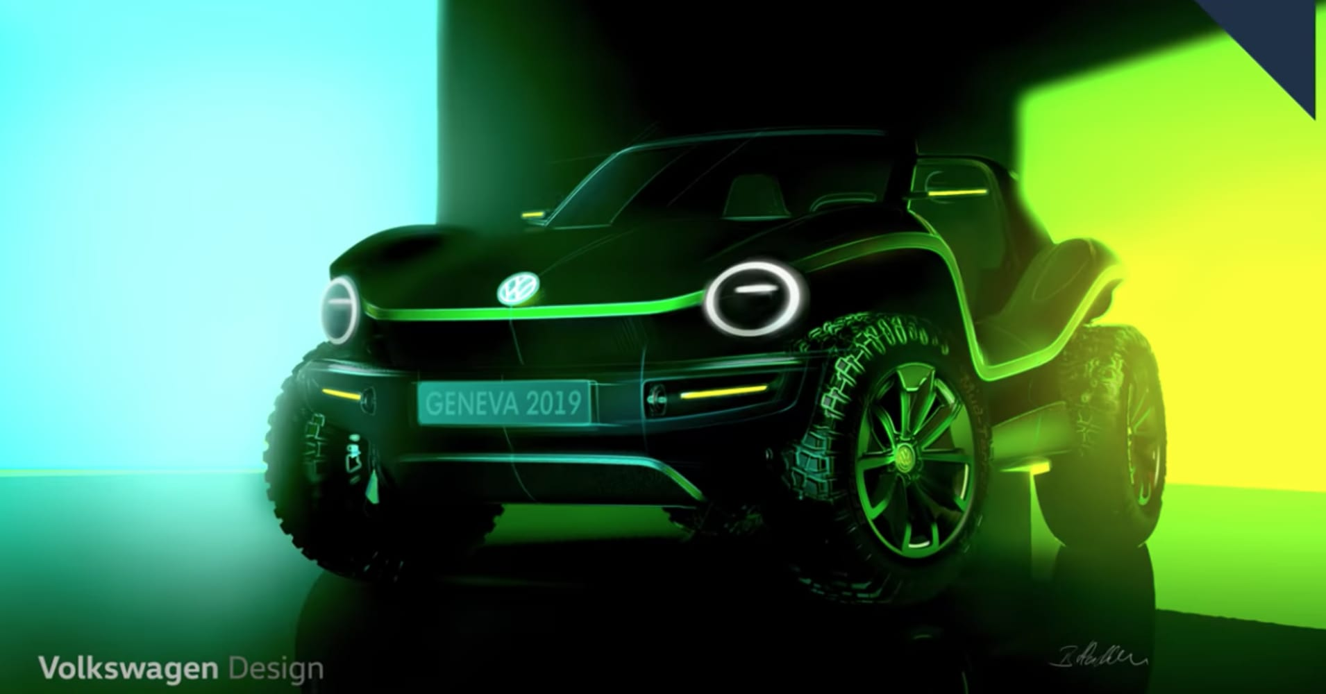 VW revives the dune buggy with an electric concept vehicle that brings the past into the future