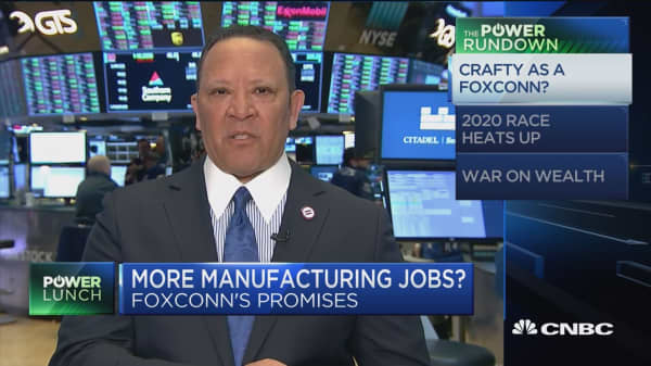 Wisconsin people should hold Foxconn to its word, says pro
