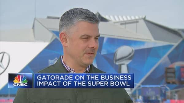 GATORADE'S BIG DAY: Gatorade's Brett O'Brien on the business impact of the Super Bowl