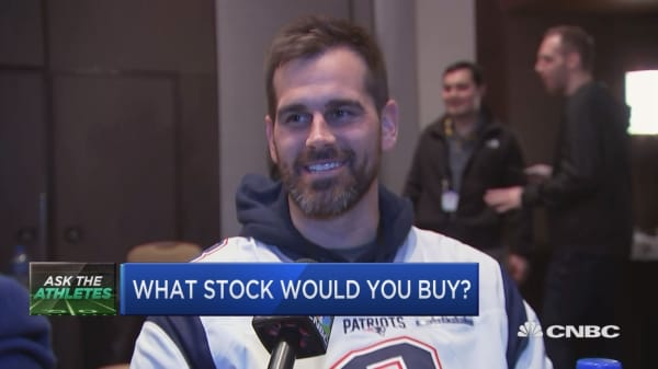 CNBC ASKS THE SUPER BOWL ATHLETES: WHAT STOCK WOULD YOU BUY?