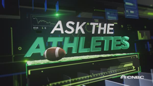 CNBC ASKS THE SUPER BOWL ATHLETES: WHAT WOULD BE YOUR DREAM CEO GIG?