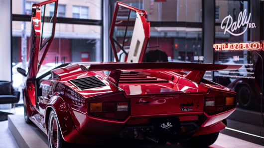 1980 Lamborghini Countach, held by Rally Rd