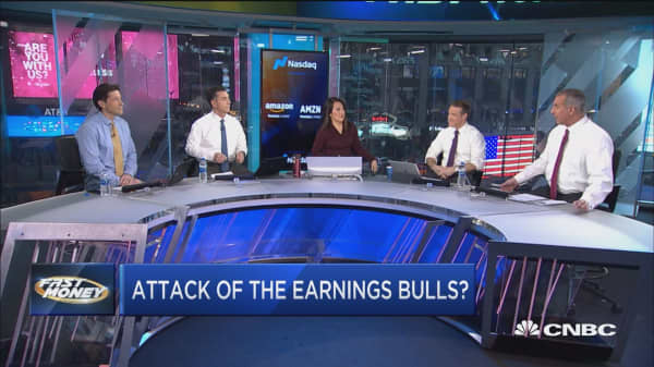 Are we about to witness the attack of the earnings bulls?