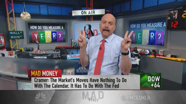 Here's the real reason the stock market had such a strong start to the year: Jim Cramer