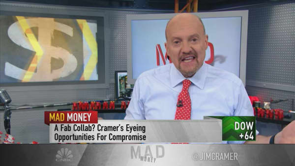 Cramer: eBay should work with activist investor Elliott Management