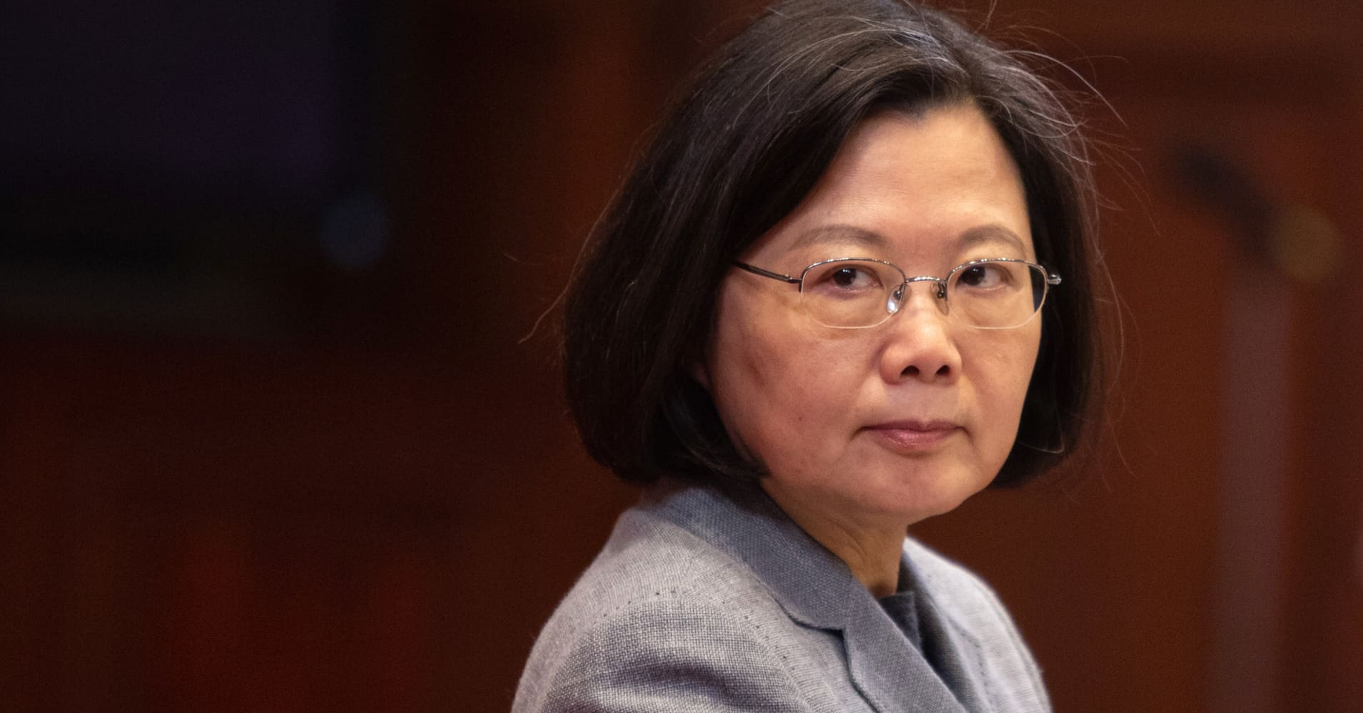 Taiwan's president orders military to 'forcefully expel' future incursions of China warplanes