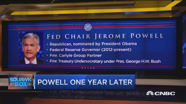 Here's how Fed Chair Jerome Powell is doing one year into the job