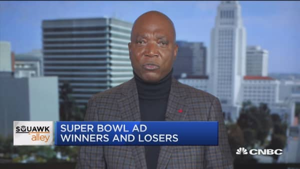 Super Bowl ad winners and losers with the former marking VP for GM
