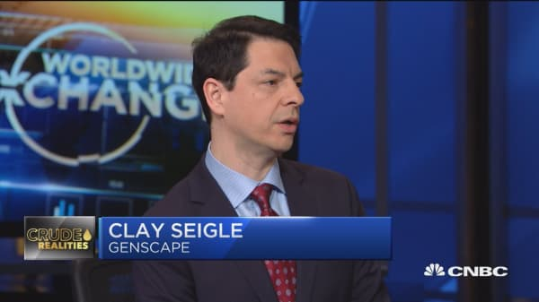 Genscape's Seigle: There's plenty of oil supply, but you have to be able to get it to where there's demand for it